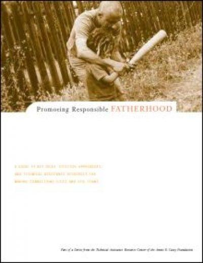 Aecf promotingresponsiblefatherhood cover