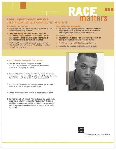 Aecf racialequityimpactanalysis Cover1