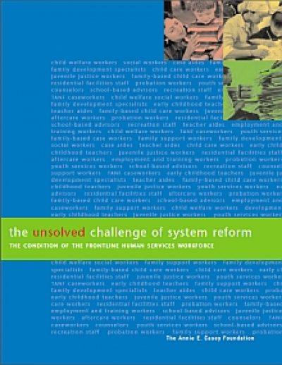 Aecf unsolvedchallengeofsystemreform cover