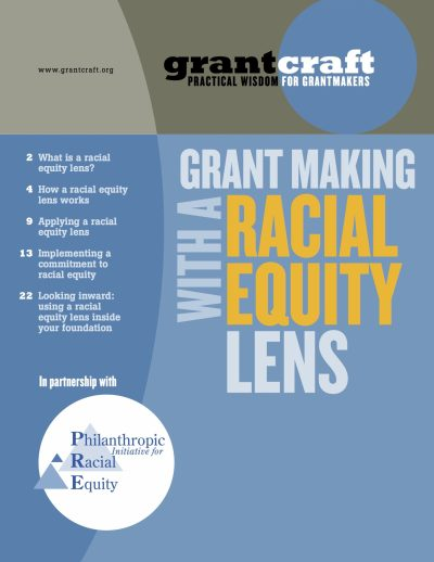 Grantcraft Grant Making With Racial Equity Lens cover