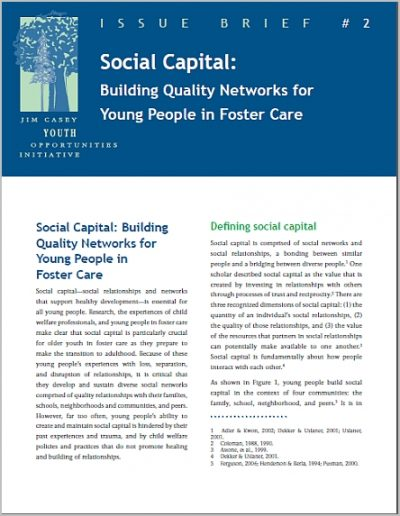 Jcyoi Issue Brief2 Social Capital cover