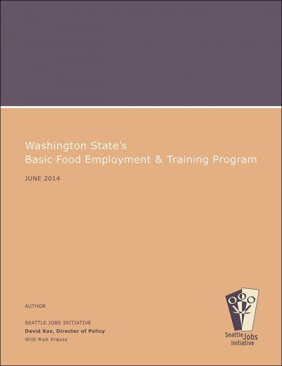 Sji Washington States Food Employment Training 2014