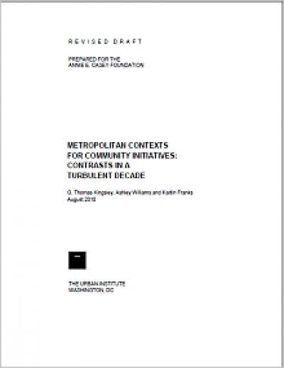 Urban MC Metro Contexts Community Initiatives cover