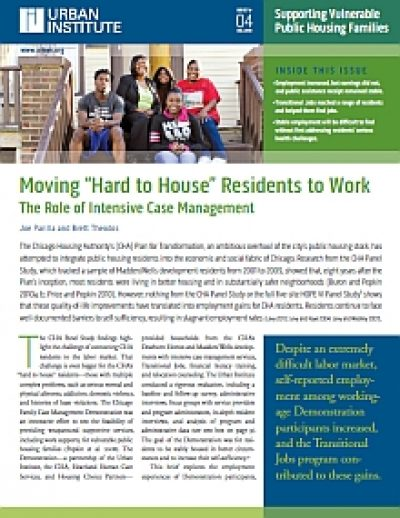 Urban Moving Hardto House Residents cover