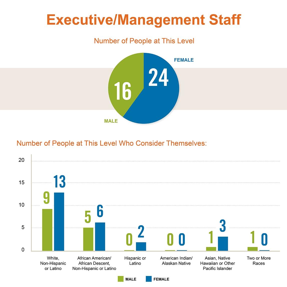 Diversity of Casey's Executive Leadership